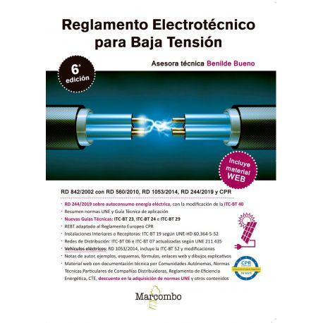 REGLAMENTO ELECTROTECNICO PARA BAJA TENSION - 6ª Edición