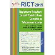 RICT 2019. REGLAMENTO DE INFRAESTRUCTURAS COMUNES DE TELECOMUNICACIIONES EDICIÓN 2019