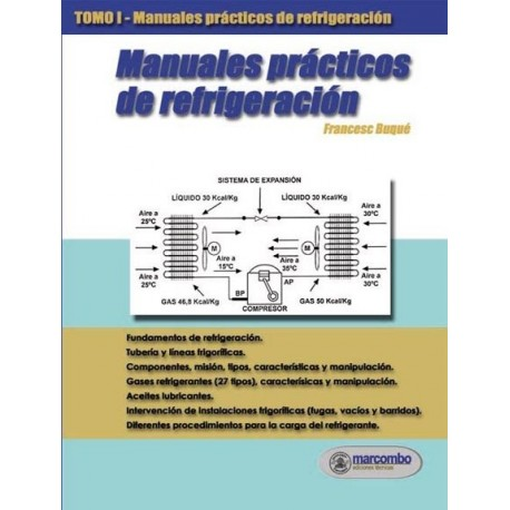 MANUALES PRACTICOS DE REFRIGERACION. Tomo 1