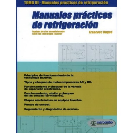 MANUALES PRACTICOS DE REFRIGERACION- Tomo 3 (Incluye DVD)