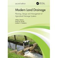 MODERN LAND DRAINAGE. Planning, Design and Management of Agricultural Drainage Systems