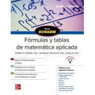 FóRMULAS Y TABLAS DE MATEMATICA APLICADA - 5ª Edición