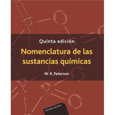 NOMENCLATURA DE LAS SUSTANCIAS QUIMICAS - 5ª Edición