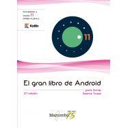 EL GRAN LIBRO DE ANDROID 8ªED.