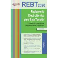 REBT 2020. Reglamento Electrotecnico para baja tensión