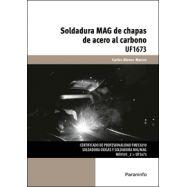 UF1673 - SOLDADURA MAG DE CHAPAS DE ACERO AL CARBONO