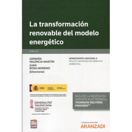 TRANSFORMACION RENOVABLE DEL MODELO ENERGETICO (DUO)