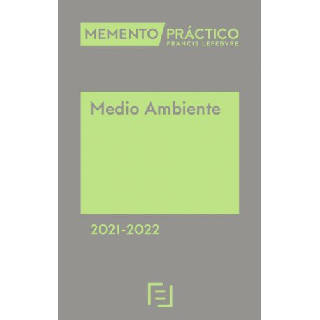 MEMENTO MEDIO AMBIENTE 2021-2022