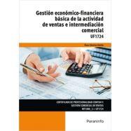 UF1724 - GESTIÓN ECONÓMICO FINANCIERA BÁSICA DE LA ACTIVIDAD DE VENTAS E INTERMEDIACIÓN COMERCIAL