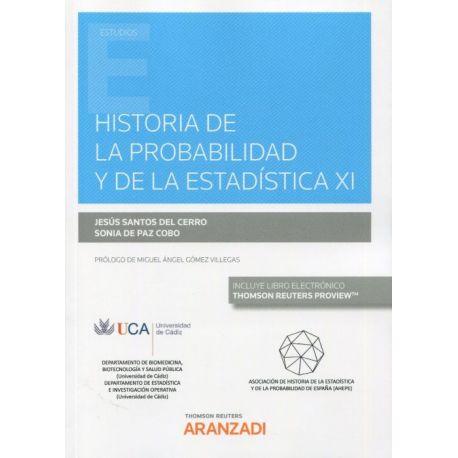 HISTORIA DE LA PROBABILIDAD Y DE LA ESTADÍSTICA XI