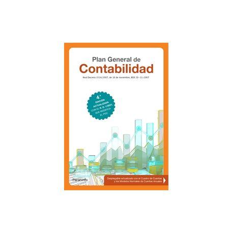 PLAN GENERAL DE CONTABILIDAD. 4.ª edición 2021