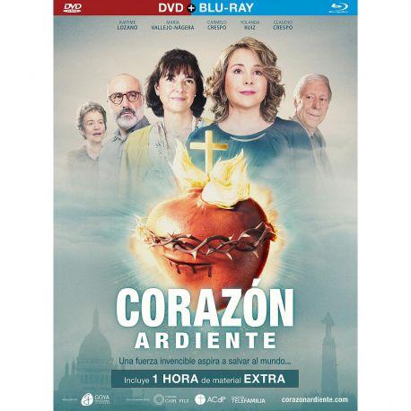 CORAZON ARDIENTE - DVD
