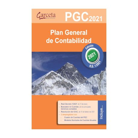 PLAN GENERAL DE CONTABILIDAD. Edición de 2021