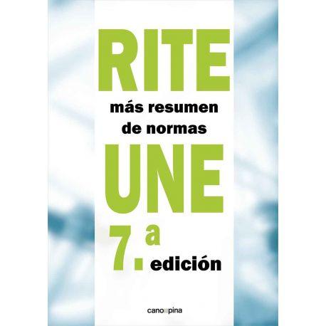 RITE+ Resumen Normas UNE. 7ªedición