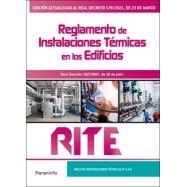 RITE. Reglamento de instalaciones térmicas en los edificios 8.ª edición 2021