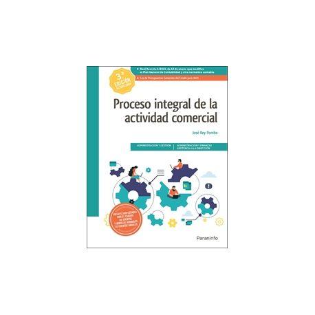 PROCESO INTEGRAL DE LA ACTIVIDAD COMERCIAL. 3ª Edición 2021