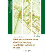 MONTAJE DE INSTALACIONES DE CLIMATIZACION Y VENTILACION-EXTRACCION (MF1158) - 2ª Edición 2021