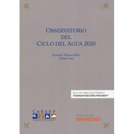 OBSERVATORIO DEL CICLO DEL AGUA 2020