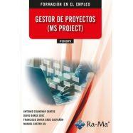 GESTOR DE PROYECTOS (MS PROJECT) IFCD026PO