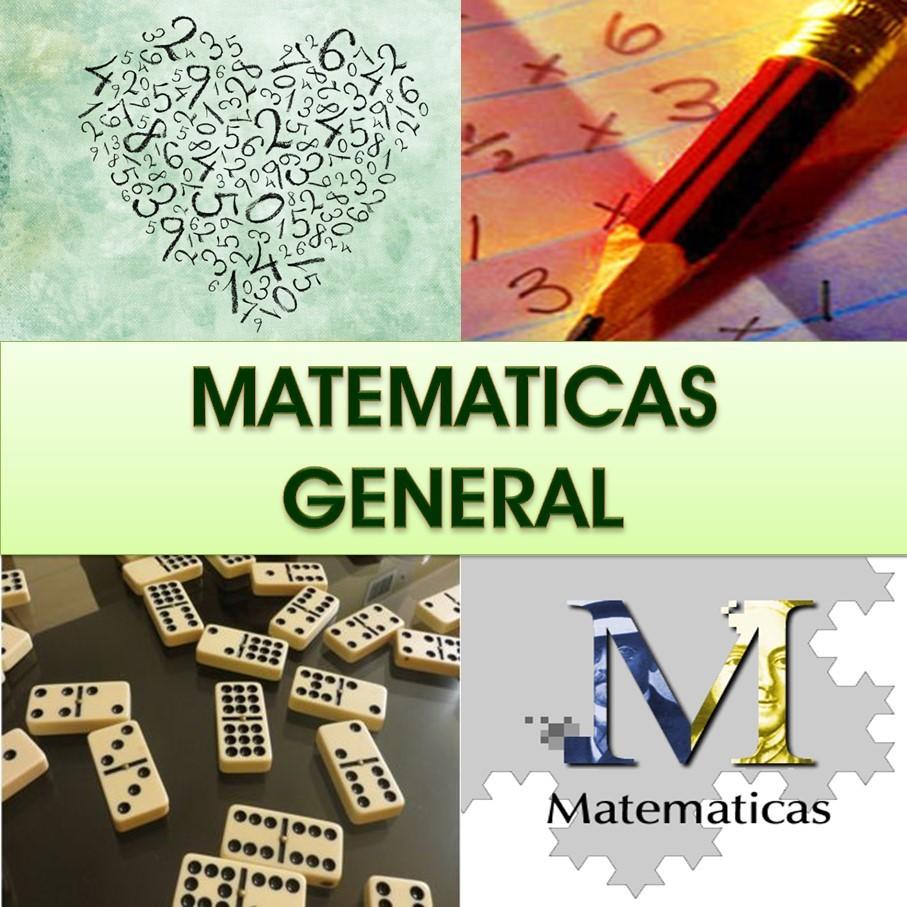 Matemáticas en General
