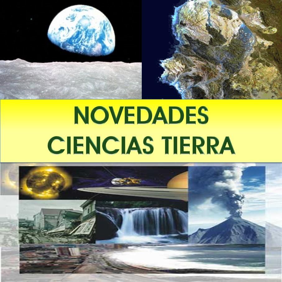 Novedades Ciencias de la tierra e Ingª del Suelo