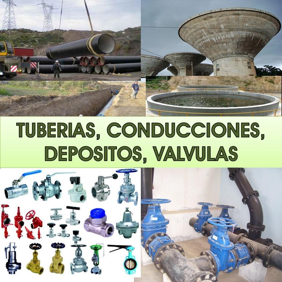 Tuberías - Conducciones - Válvulas - Depósitos