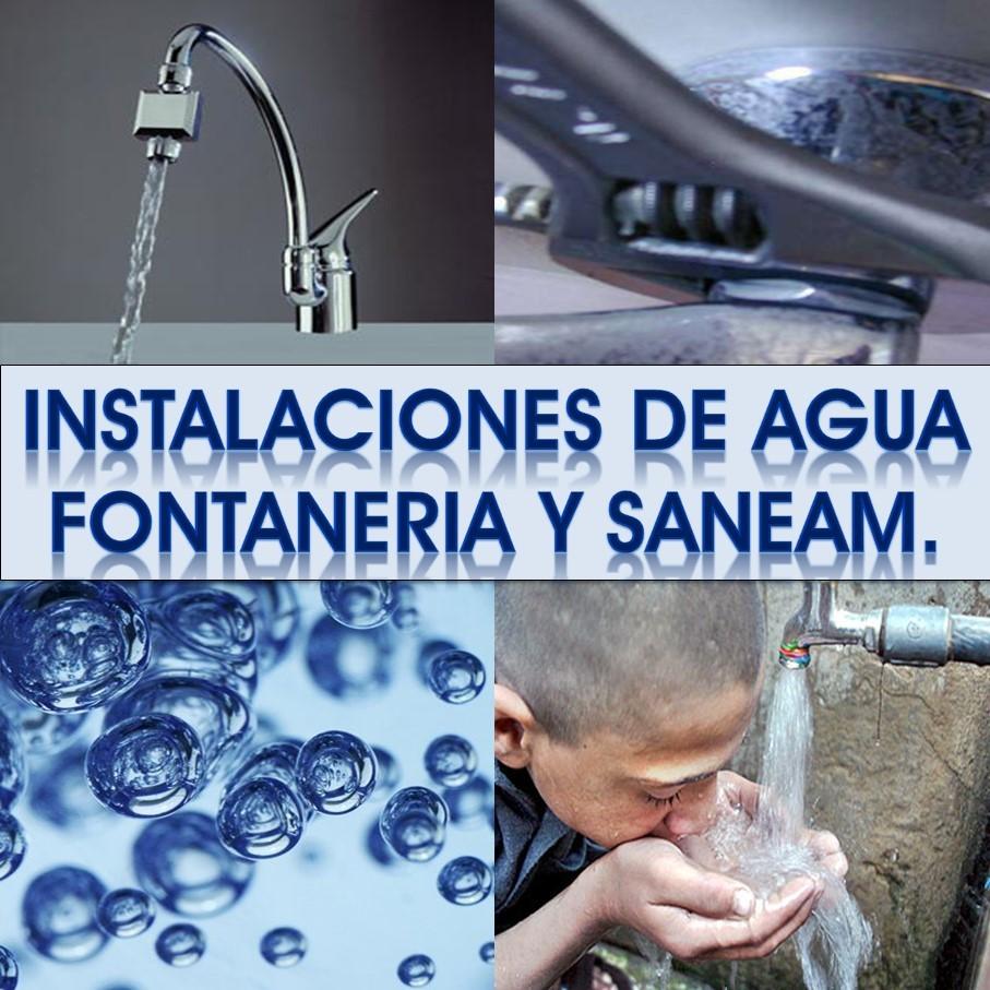 Instalaciones de Fontanería, Agua y Saneamiento